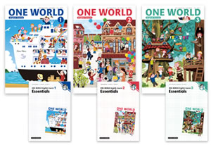 One World English Series 1,2,3